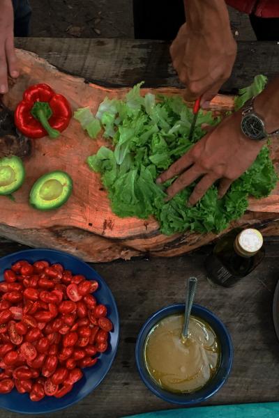 second slide cooking class riad saba marrakech.. activities